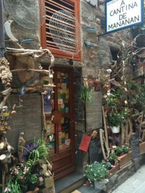 Fachada da Osteria A Cantina de Mananan, Corniglia, Cinque Terre