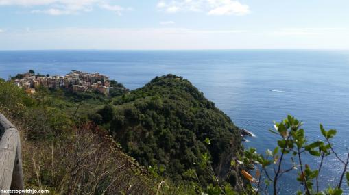 Vista da trilha entre Corniglia - Vernazza, Cinque Terre.