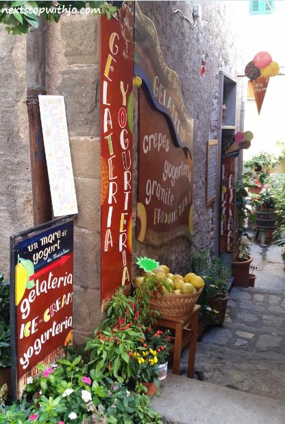 Un Mare di Yogurt, Corniglia, Cinque Terre.