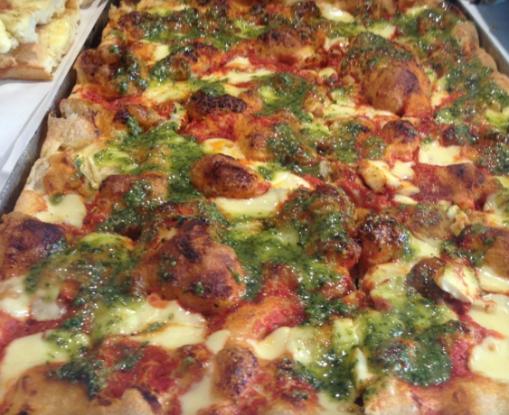 Pizza ao molho pesto, Monterosso Al Mare, Cinque Terre